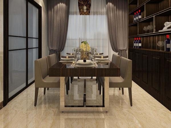 现代餐厅瓷砖