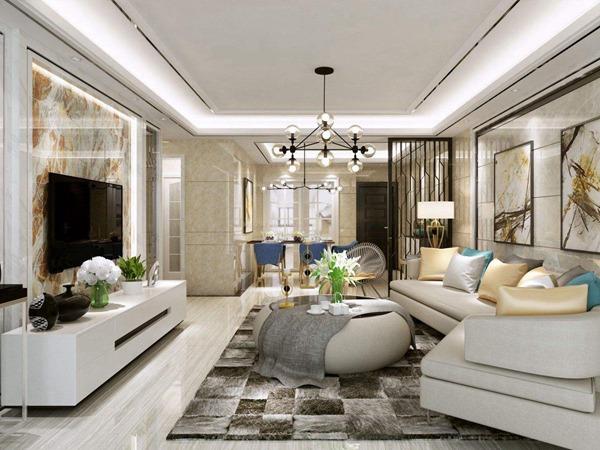 最新流行客厅瓷砖