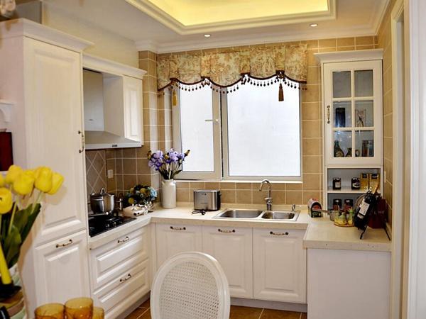别墅厨房瓷砖