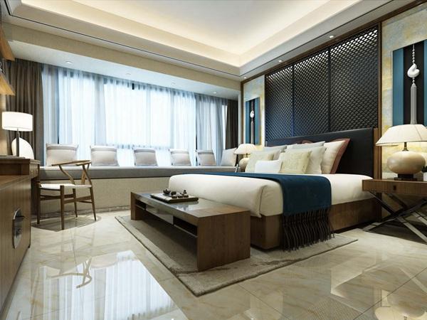 中式卧室瓷砖