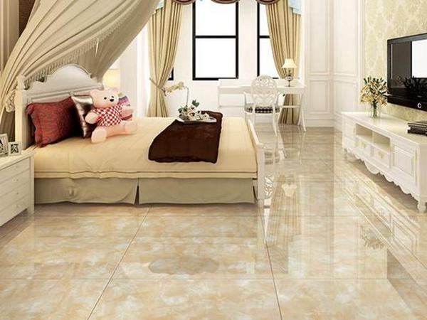 卧室地板瓷砖