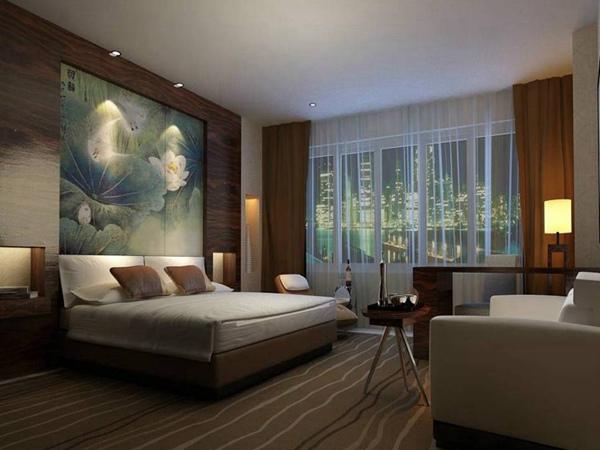 简约中式风格卧室瓷砖