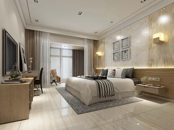 简约卧室瓷砖
